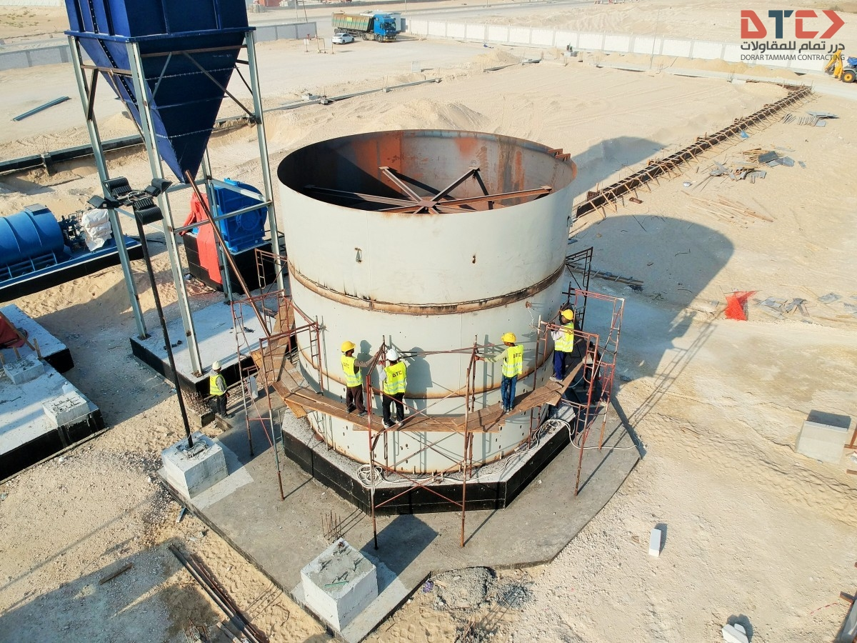 Williams Roller Mill System Erection Williams Roller Mill System Erection DJI 0332