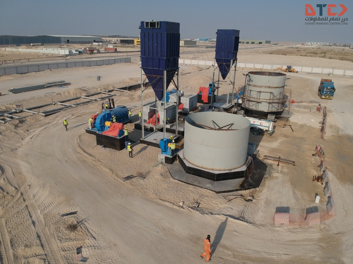 Williams Roller Mill System Erection Williams Roller Mill System Erection DJI 0347