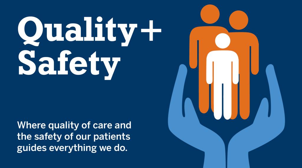 Quality & Safety Quality & Safety Quality and Safety webpage 640x357